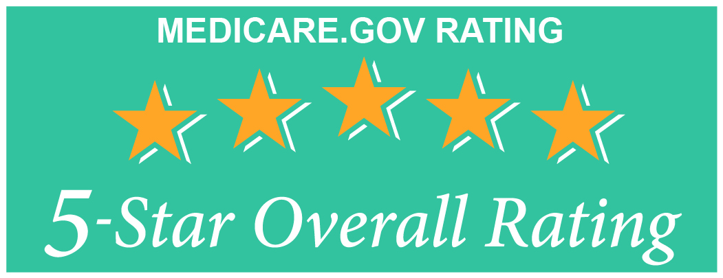 Medicare.gov 5 star rating